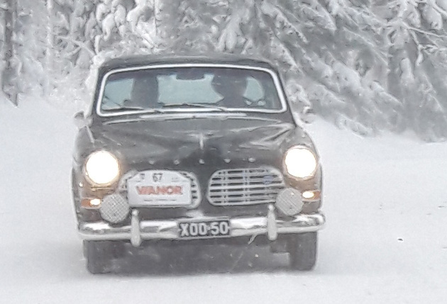 Kuvia Keski-Suomen Mobilistien XLVI 46. Talwiajoista