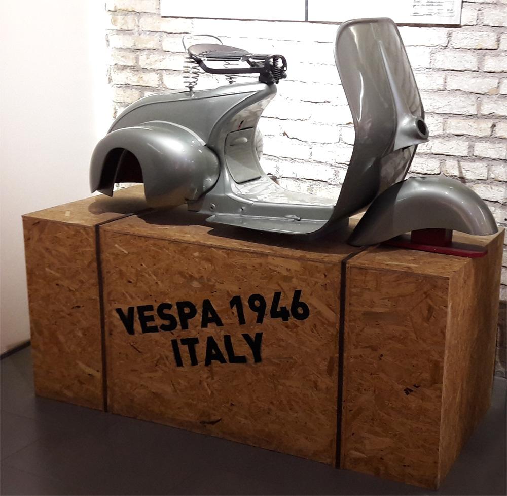 Vespa Museo Rooma 5.4.2019